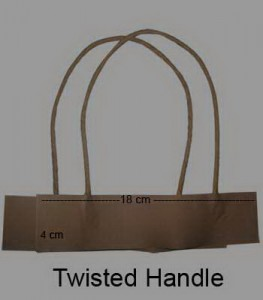 Twisted Handle Coklat
